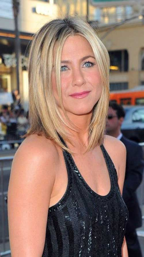 Jennifer Aniston Lang Bob-10