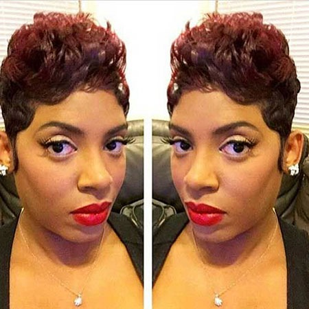 Kurze lockige Frisuren Black Women - 25-