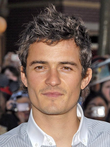 Orlando Bloom Faux Hawk