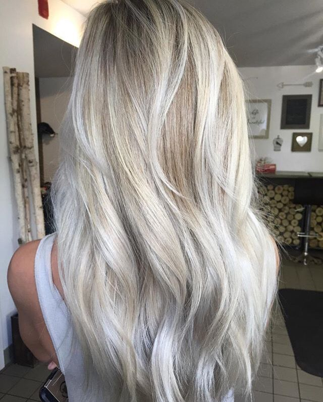 Silver Blonde Highlights