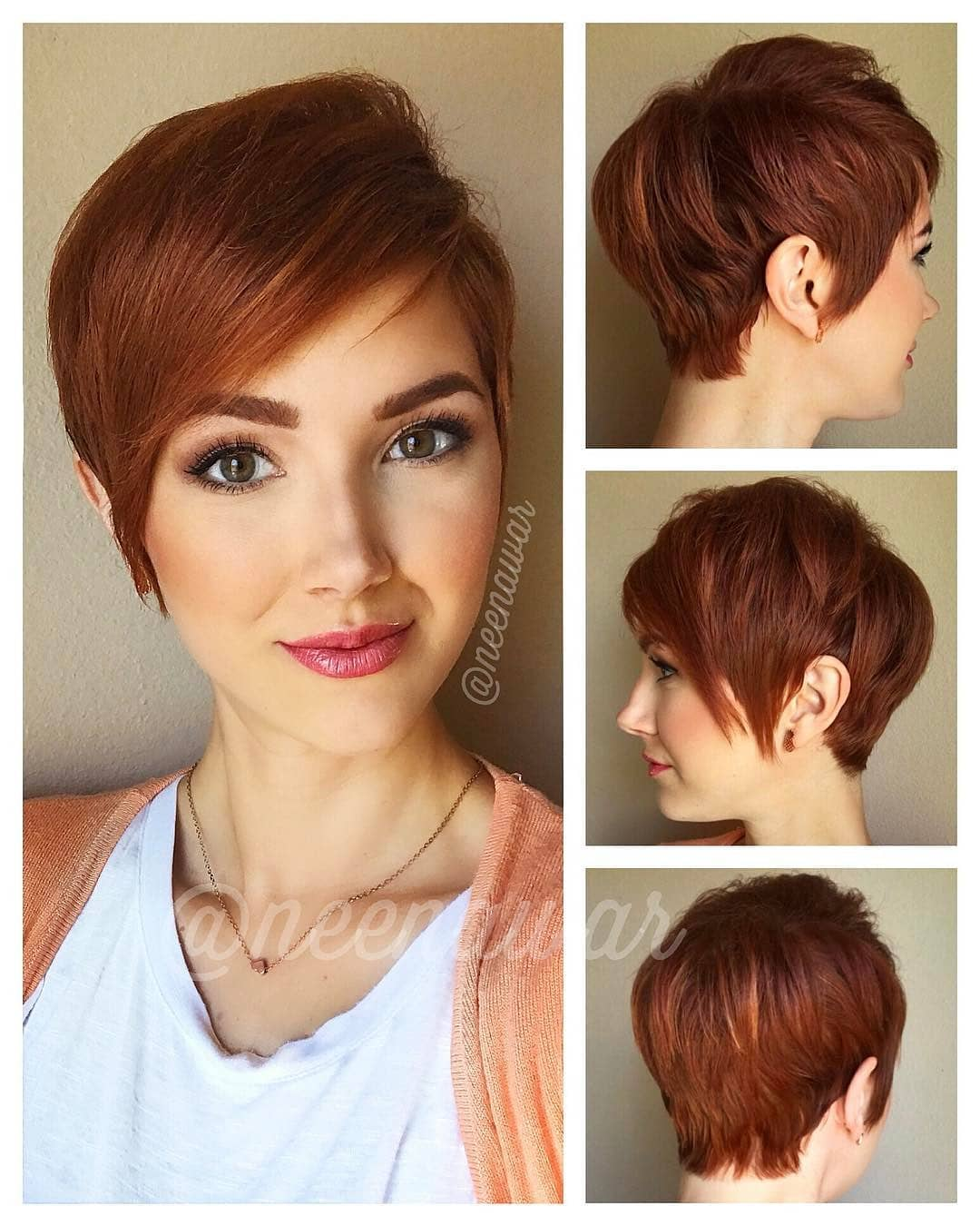 Stylish Pixie Haircut, 2018 Best Kurze Frisuren für Frauen