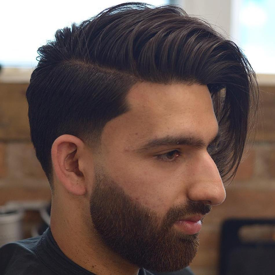Side Parted Undercut