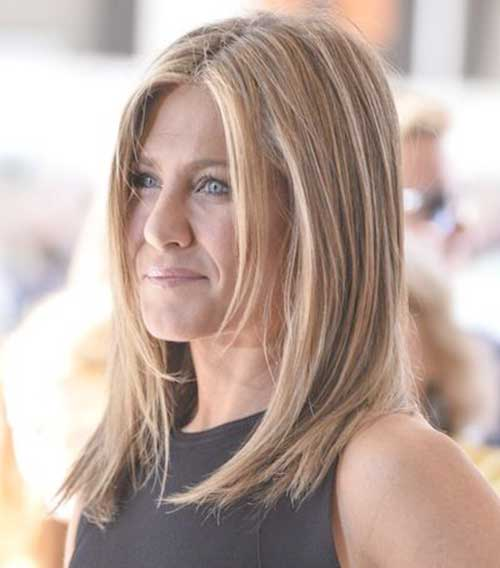 Jennifer Aniston Lang Bob-9
