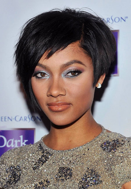 Short Curly Frisuren Black Women - 30-