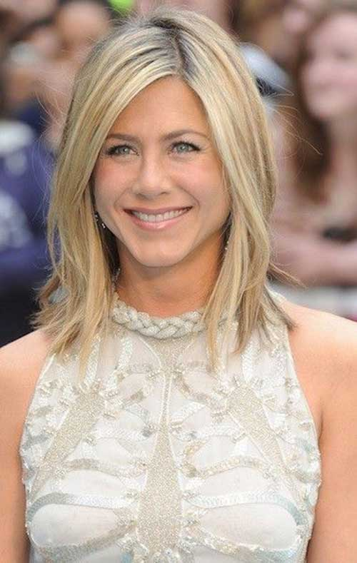 Jennifer Aniston Lang Bob-16