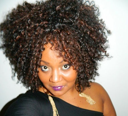 Kurze lockige Frisuren Black Women - 29-
