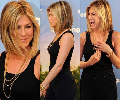 Jennifer Aniston Lang Bob-8