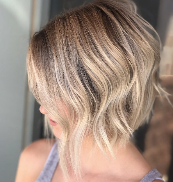 Cremige blonde Highlights von Emily Anderson