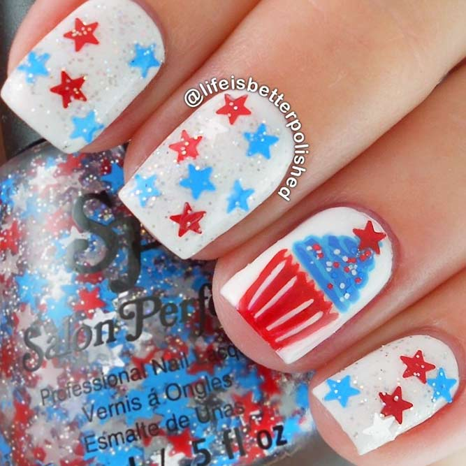 Star Nail Art Bild 3
