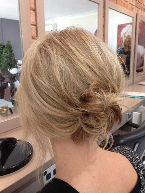 Messy Low Bun Frisuren-11