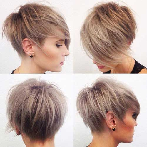 Layered Longer Pixie