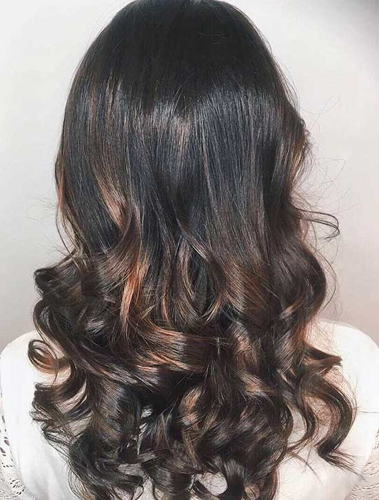 8. Mahagoni Caramel Highlights