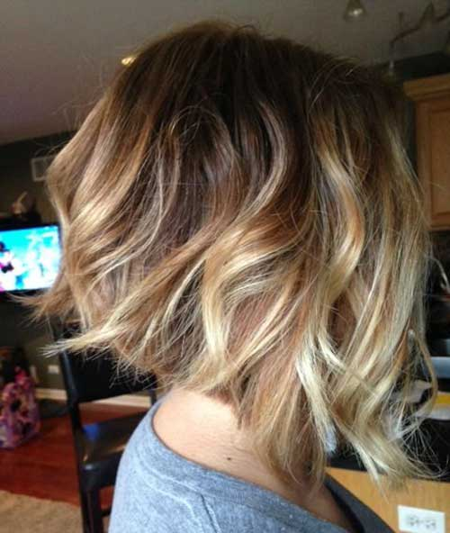 Blonde Balayage Short Hair-20