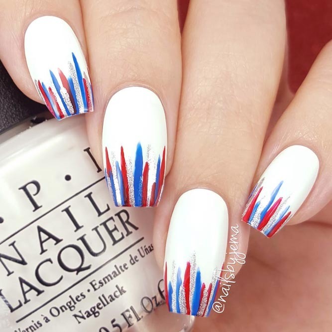 Striped Nail Designs Bild 3