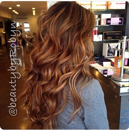Brown Balayage Arbeit Red Professional Long