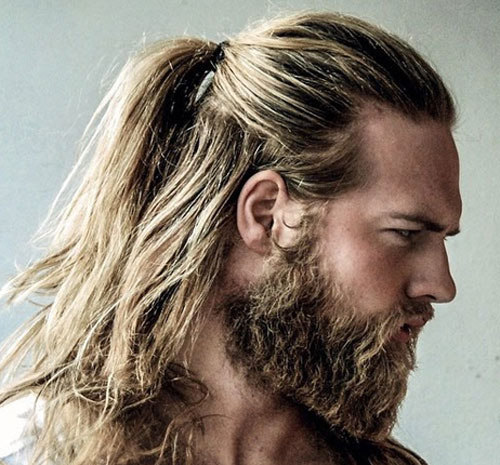 Man Bun and Beard