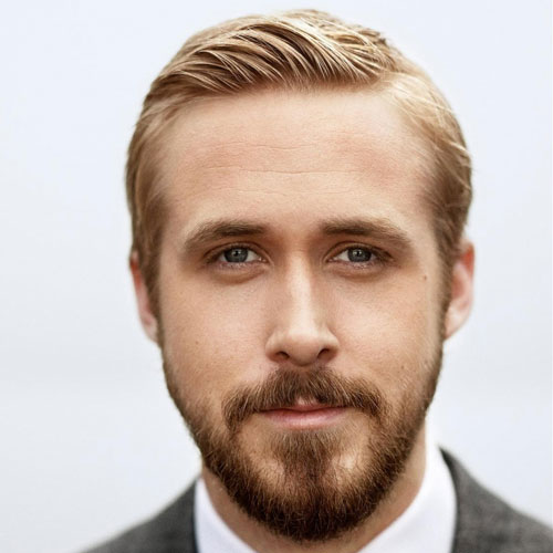 Ryan Gosling Hair - Kamm über + Bart