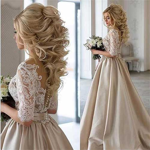 Beste Bridal Frisuren