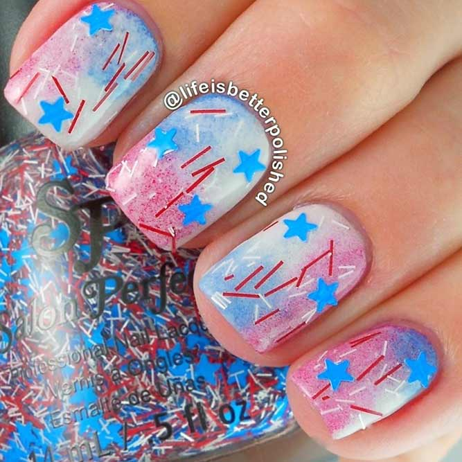 Star Nail Art Bild 1