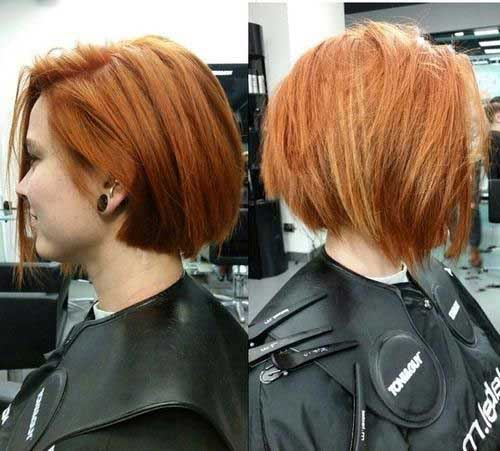 Layered Short Hairstyles-19