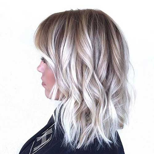 Blonde Balayage Short Hair-17