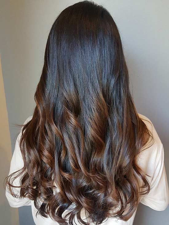28. Intensive Caramel Highlights