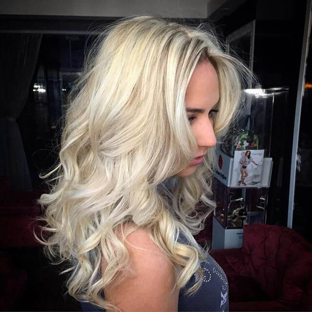 Classic Platinum mit Beach Waves