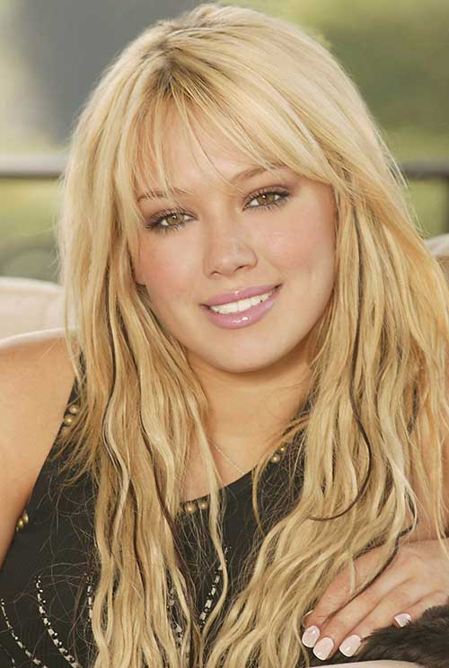 Hilary Duff Frisuren mit Pony