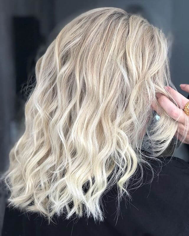 Nette Waves mit Dimensional Platinum