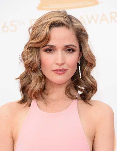 Tanzfrisuren formale Frisuren, Rose Byrne, Medium