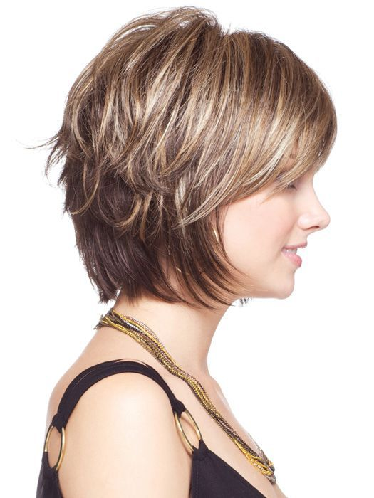 Short Layered Frisur