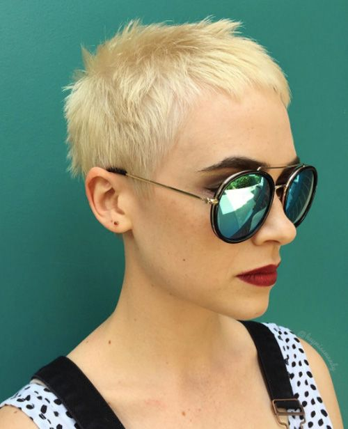 Trendy Pixie Cut Ideen von Instagram
