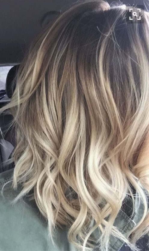 Luxus Straw-Colored Blondes Haar