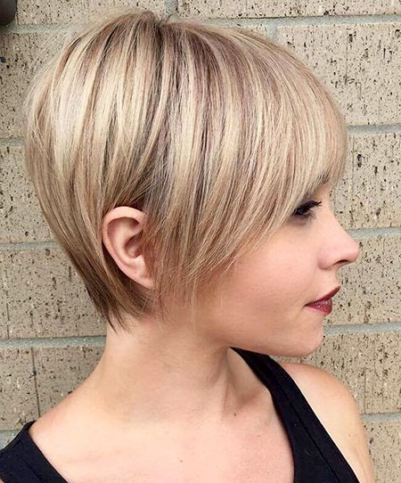 Pixie Bob Hair, Bob Blonde Fine Bobs