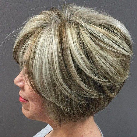 Bob Blonde Frauen Highlights