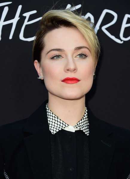 Evan Rachel Wood Straight Kurzes Haar via stylebistro