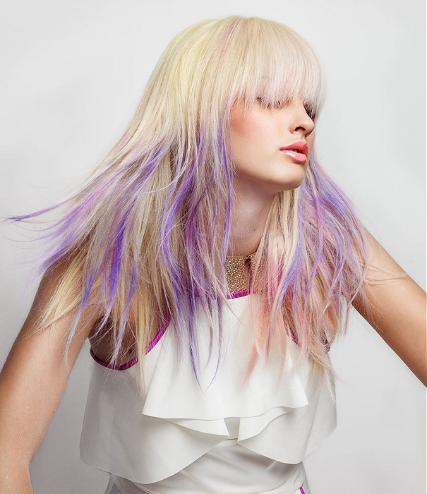 Chic Ombre Frisur Idee