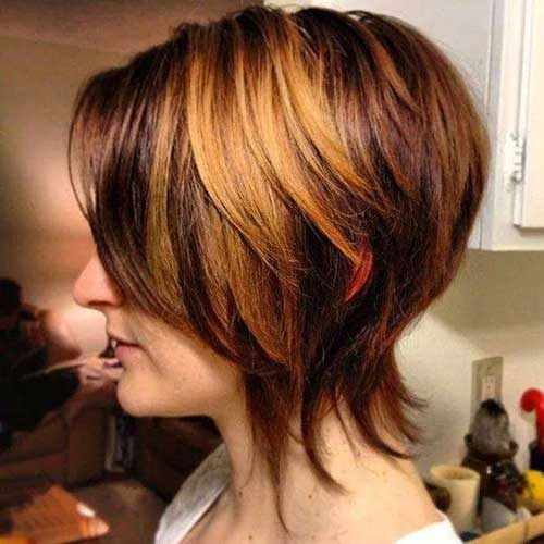 Beste Short Hair Color-15