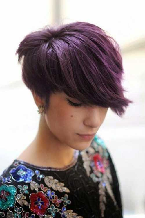 Brunette Short Hairstyles-13