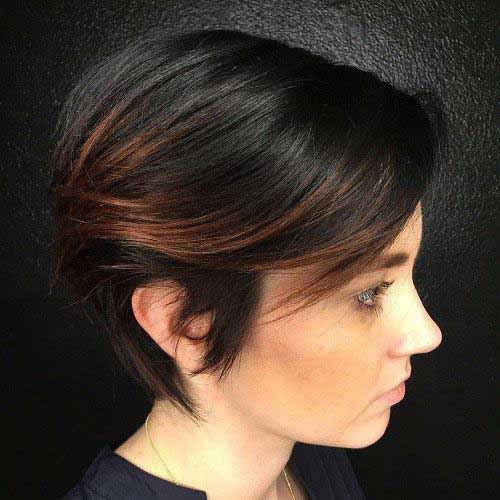 Brunette Short Hairstyles-15