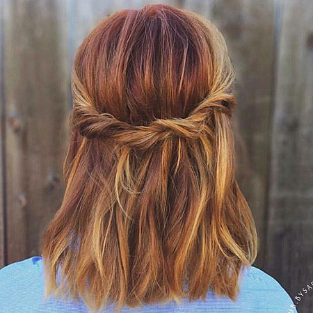 Simple Fall Colour Braid