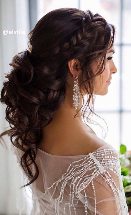 Wedding Up Halbe Down Welt Updo Updo