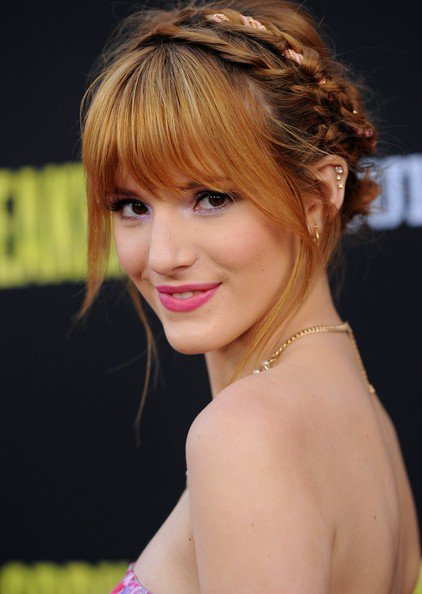 Bella Thorne Crown Zopf über