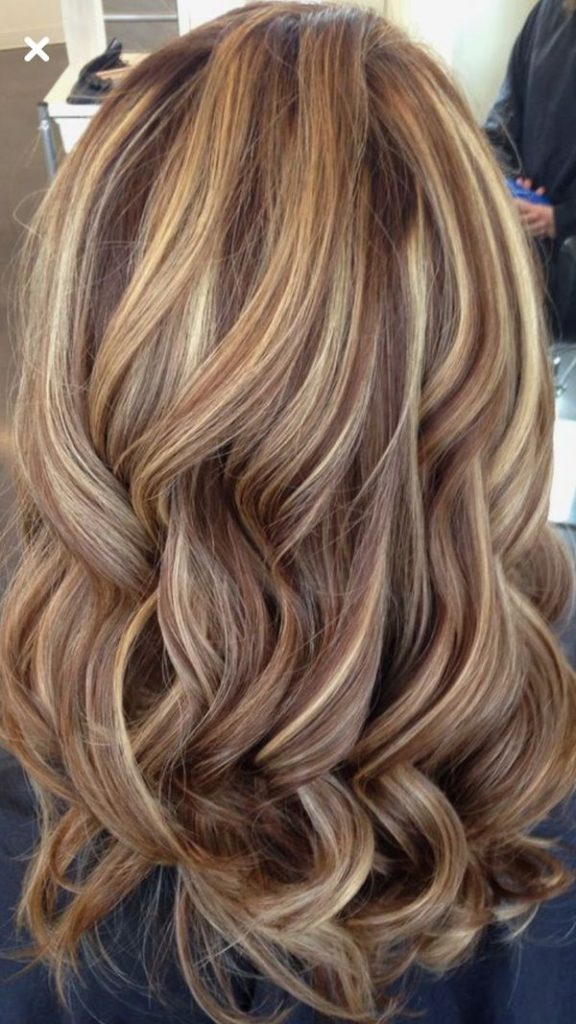 Karamell Blonde Highlights