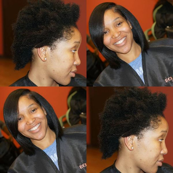 Gorgeous Volume Long Afro Bob1