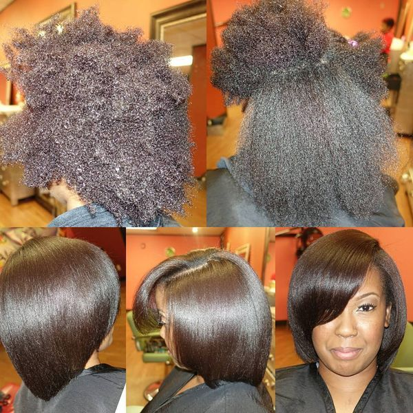 Gorgeous Volume lange Afro Bob0
