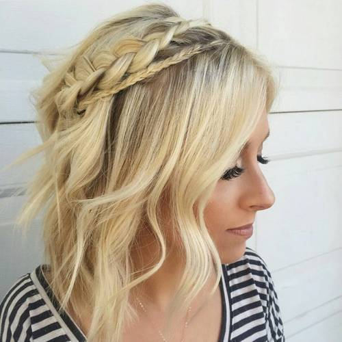 Easy Crown Braid