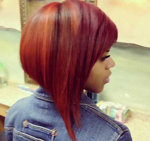 Rot invertierte Angular Bob