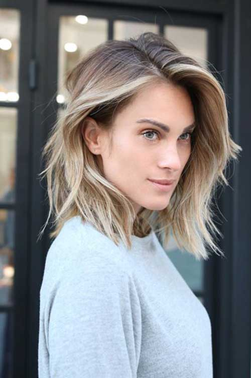 Coole blonde Highlights