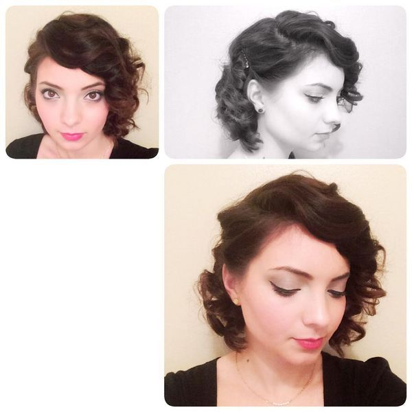 One- Side Stunning Curls
